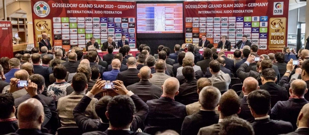 The draw for the IJF Grand Slam in Düsseldorf took place today ©IJF