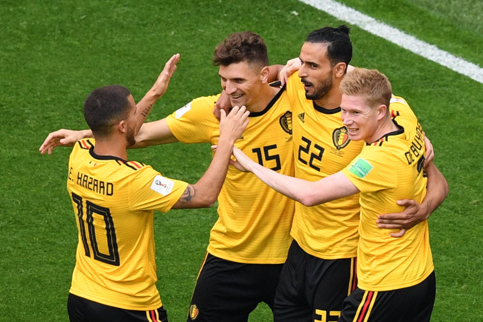 Belgium remain top of the FIFA world rankings ©Getty Images