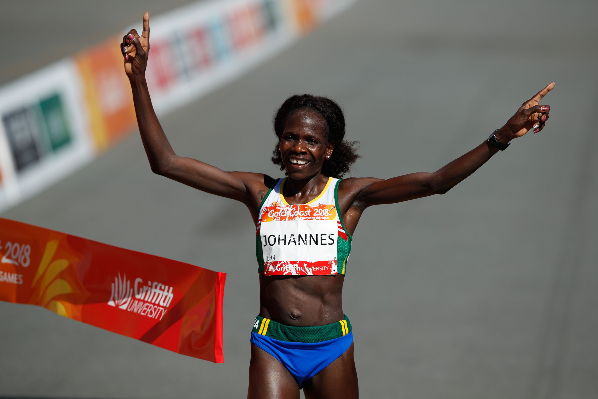 Helalia Johannes of Nambia is the defending champion of the Nagoya Women's Marathon ©Getty Images