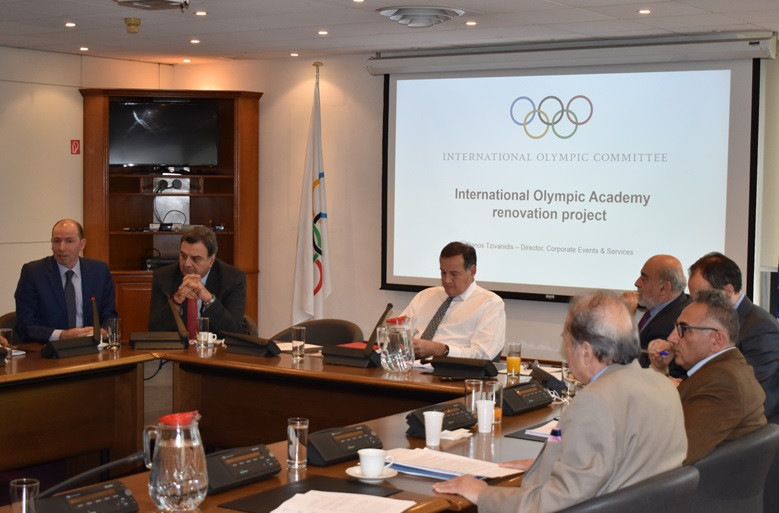 Hellenic Olympic Committee backs renovation of International Olympic Academy