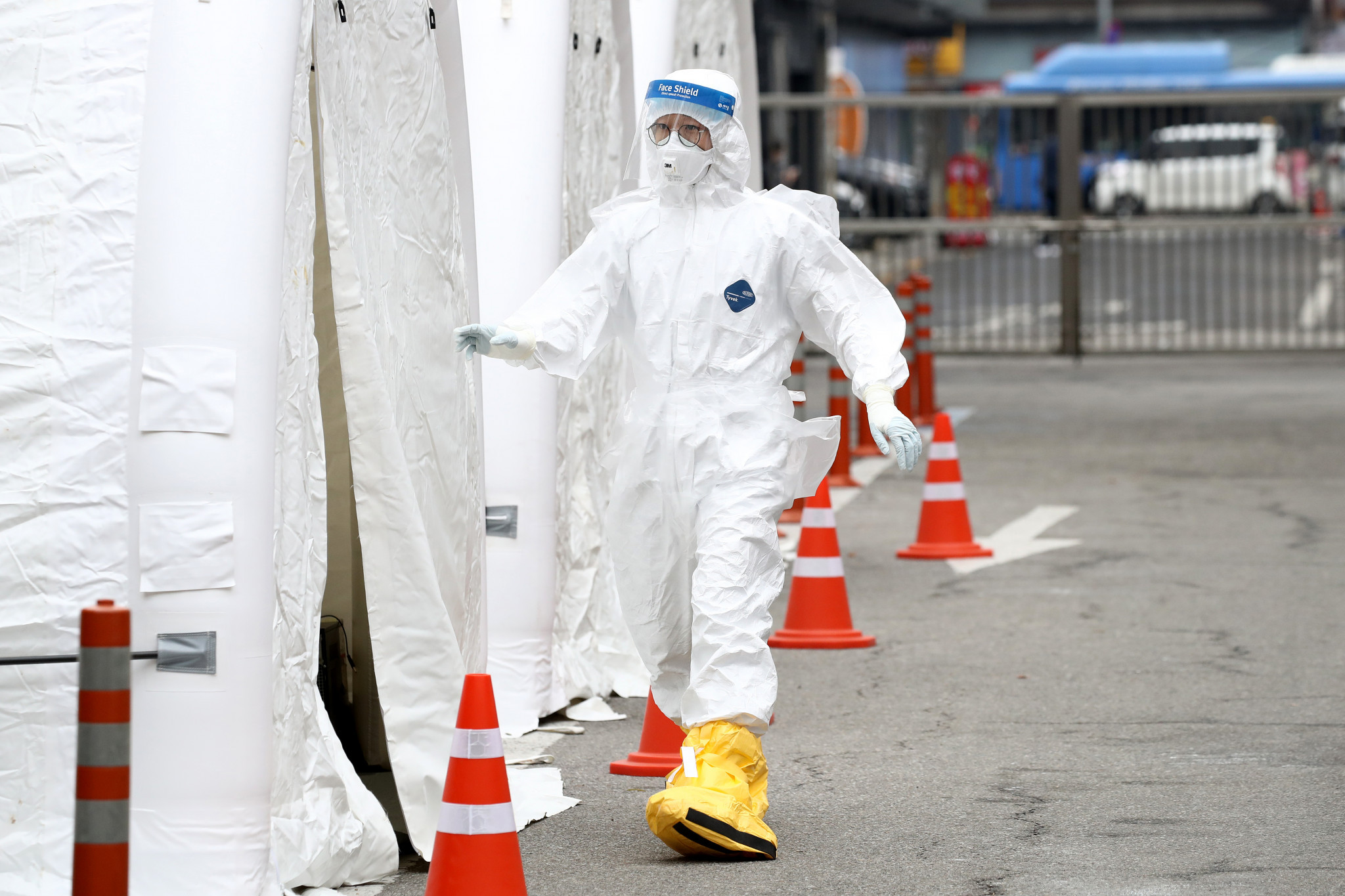 South Korea has been praised for its containment of COVID-19 through contact tracing and testing ©Getty Images