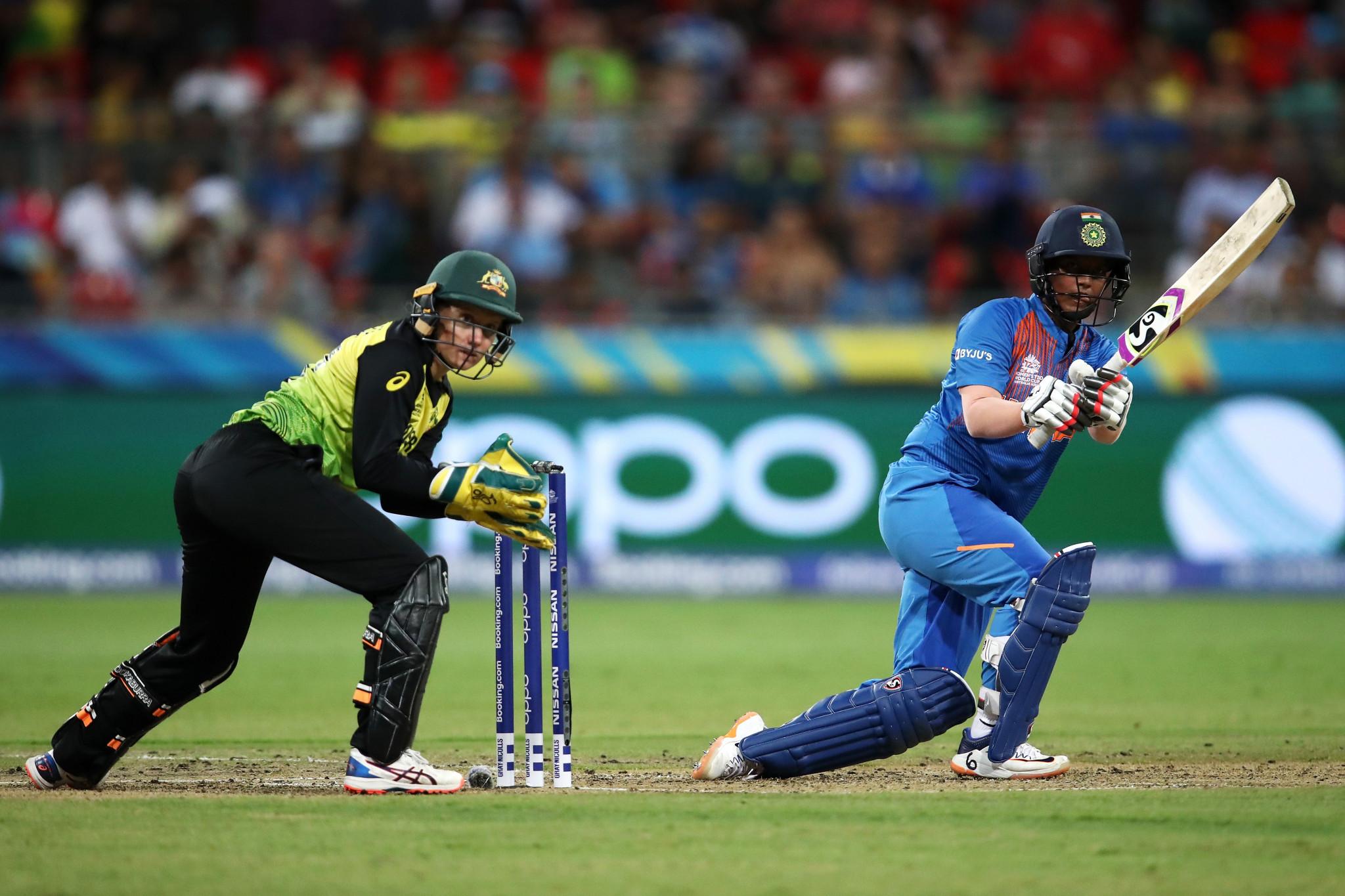 India stun defending champions Australia in ICC Women's World Twenty20 opener