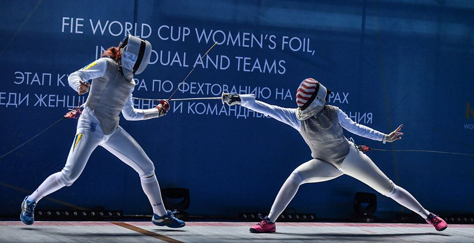 Kikuchi earns clash with top seed Deriglazova at FIE Women's Foil World Cup in Kazan