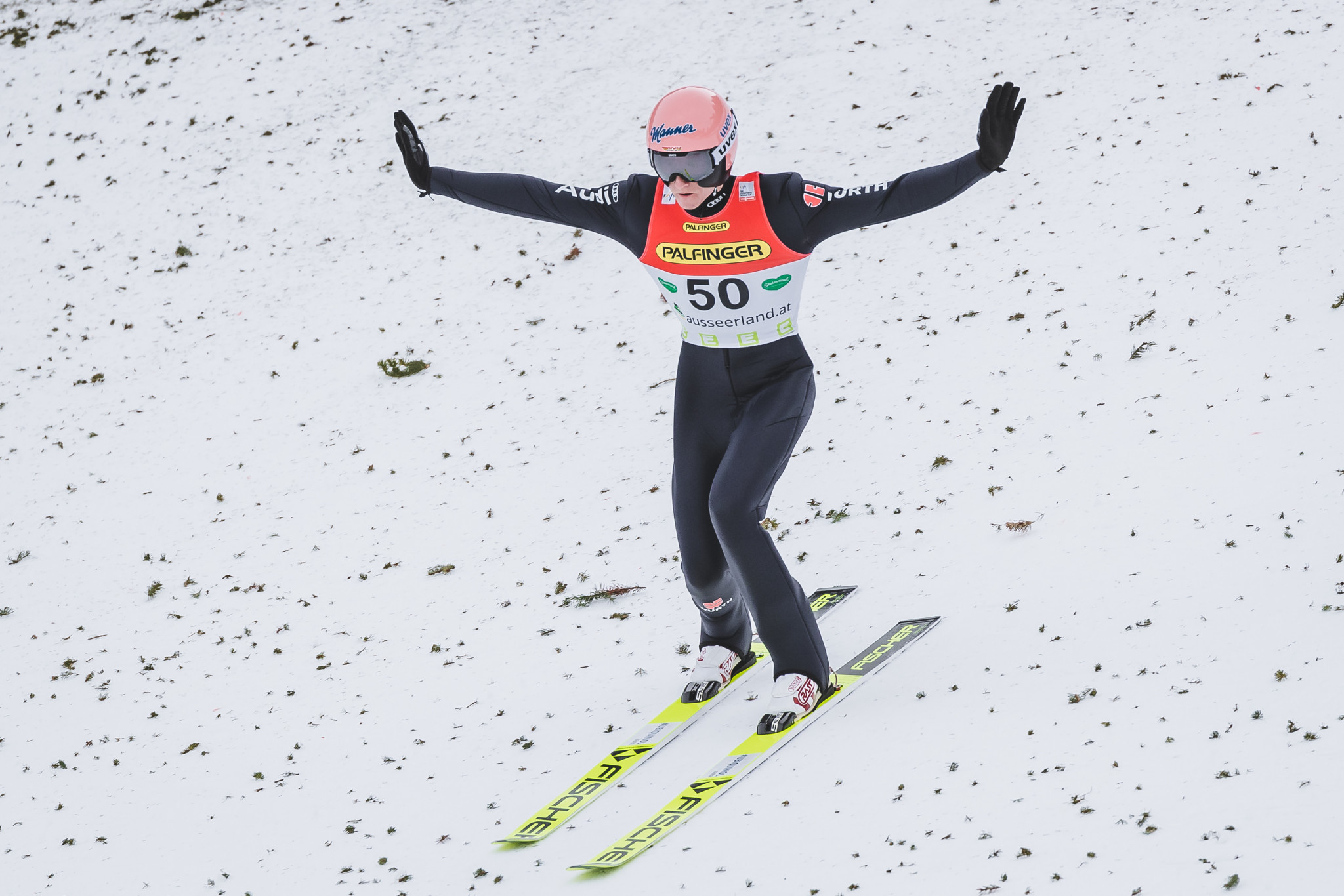 Geiger grabs third Ski Jumping World Cup win of season in Râșnov
