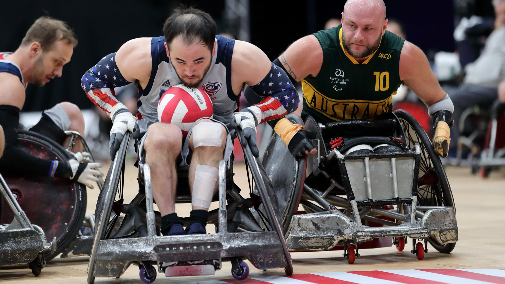 United States unbeaten on first day of Wheelchair Rugby Quad Nations