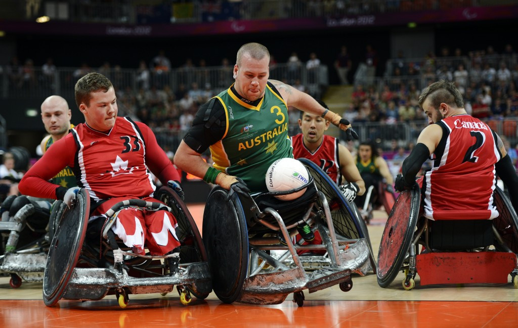 Paralympic gold medallists Australia headline the World Wheelchair Rugby Challenge which takes place in October