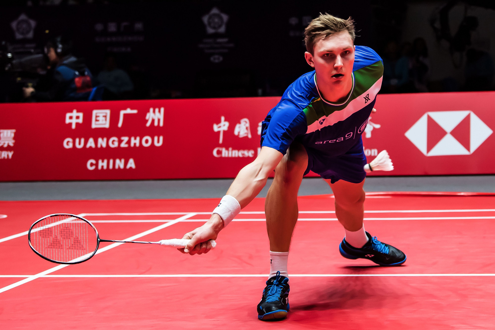 Denmark's Viktor Axelsen breezed through to the semi-finals of the men's singles event ©Getty Images