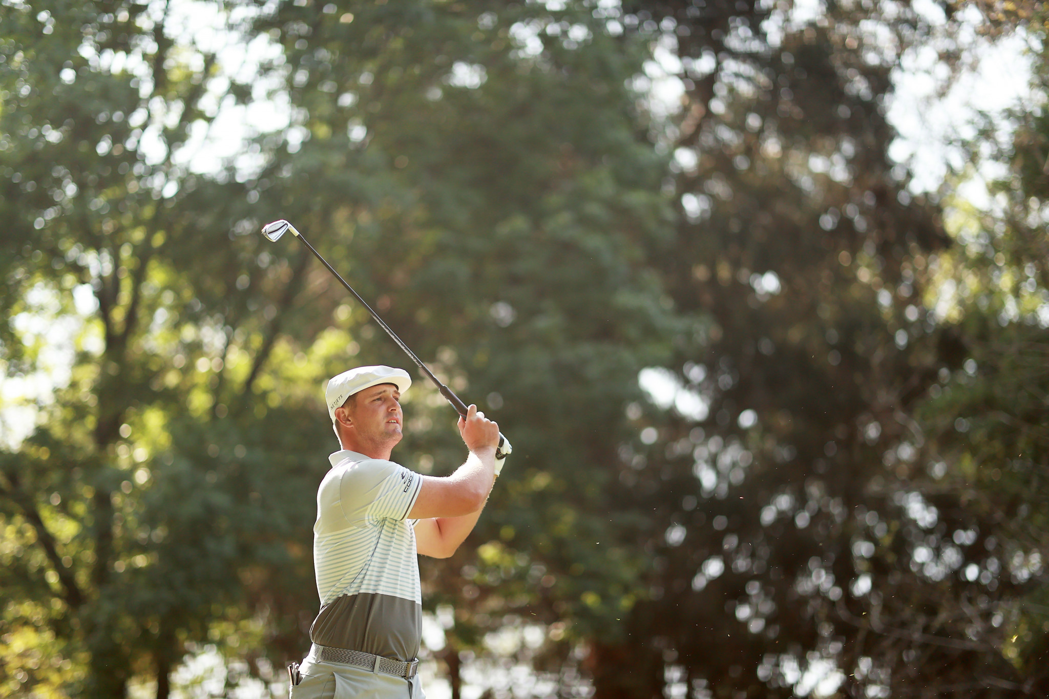 DeChambeau leads at halfway point of WGC-Mexico Championship on birdie-filled day