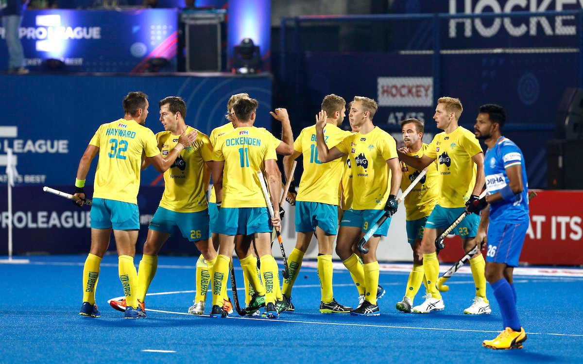 Australia edge India in seven-goal thriller in first game of FIH Pro League double header