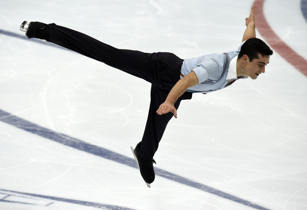 Spain's Javier Fernandez will hope to upgrade from his silver medal from the 2014 event ©Getty Images