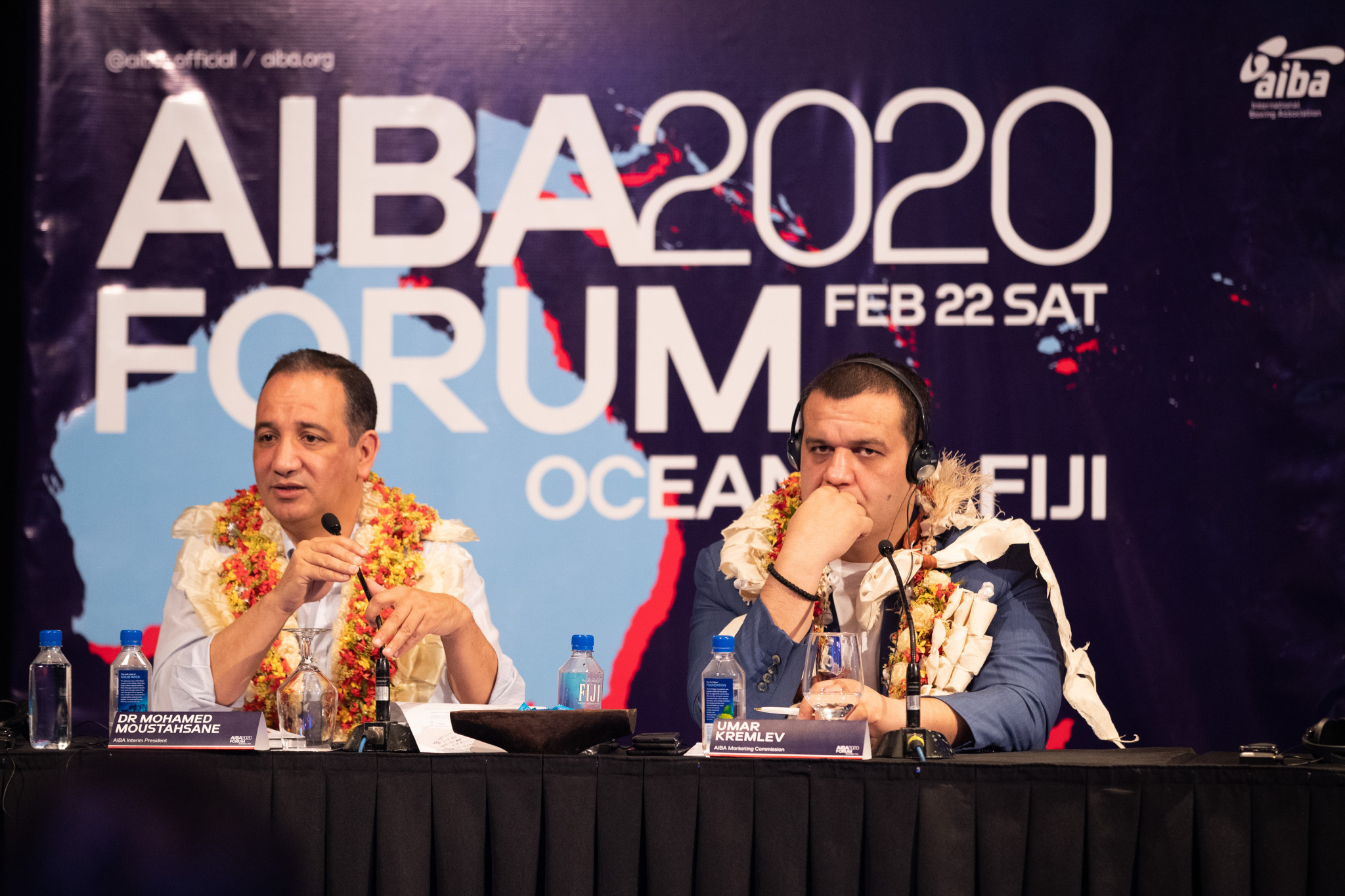 The AIBA leadership visited Fiji for the Continental Boxing Forum for Fiji ©AIBA