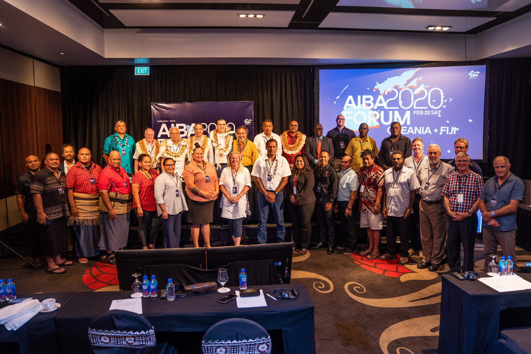 Of the 16 National Federations in Oceania, representatives from 15 were in attendance ©AIBA