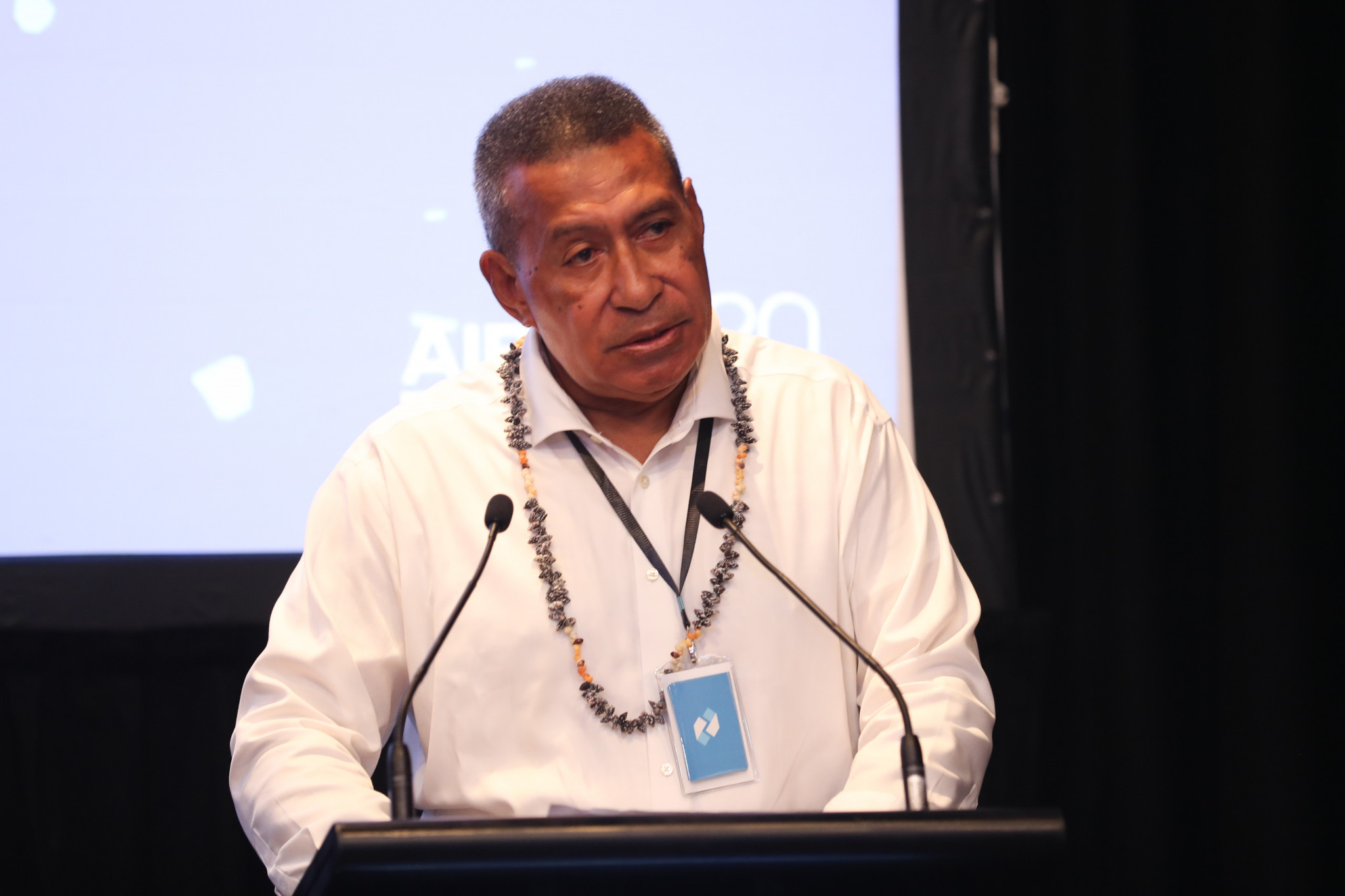 Boxing Fiji President Manasa Baravilala was also present to give opening remarks ©AIBA