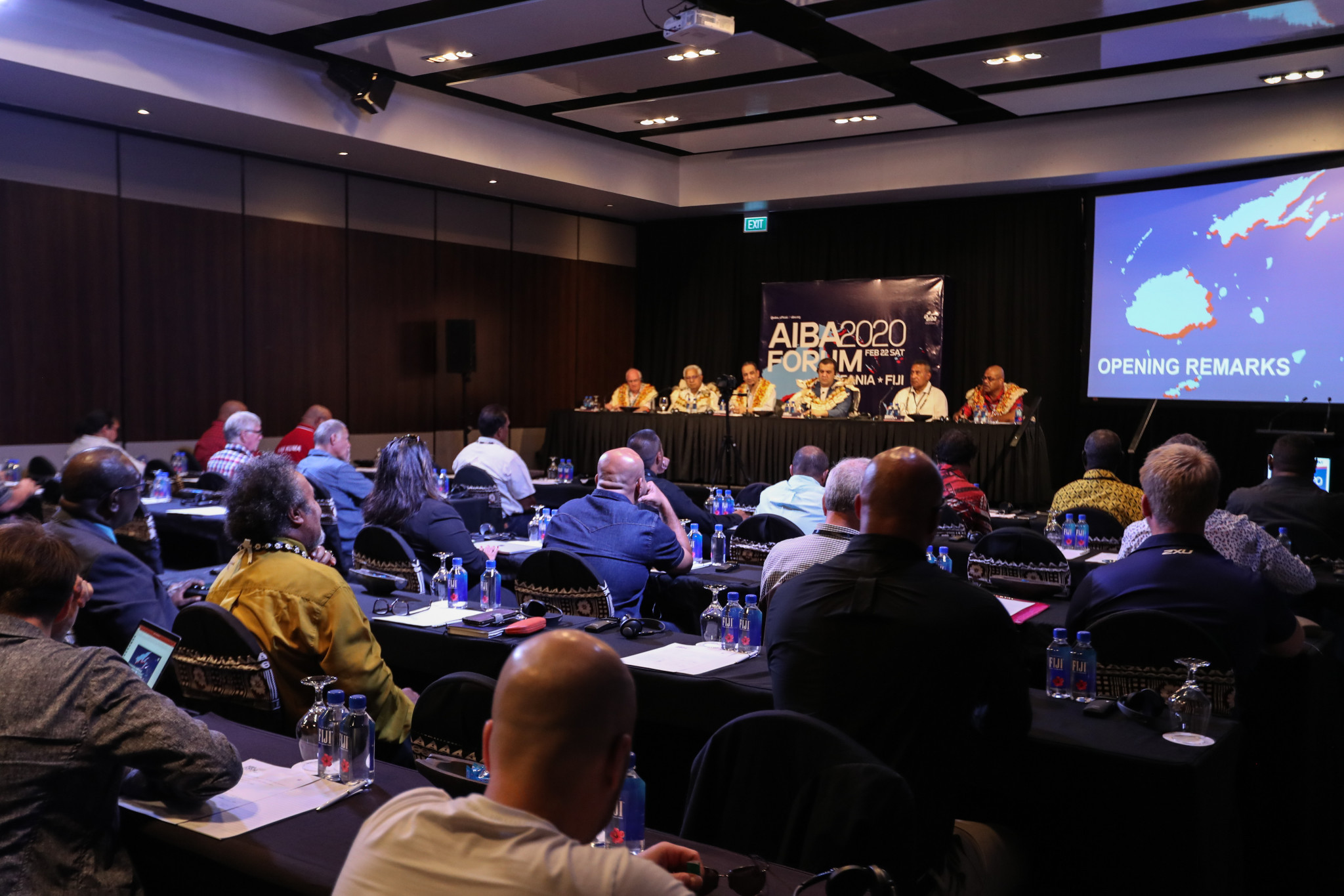 The forum was intended to create dialogue between the members of the Oceania Boxing Confederation and AIBA ©AIBA