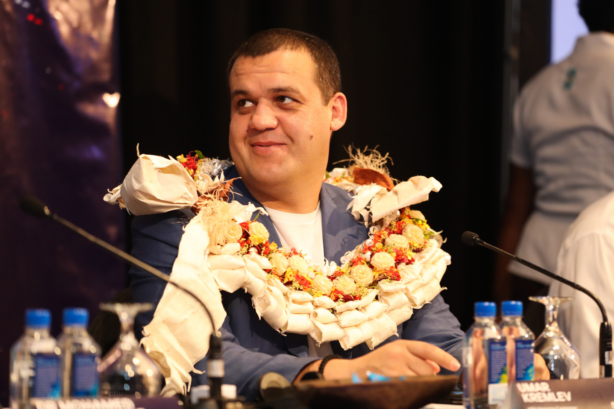 As was AIBA Marketing Commission chair Umar Kremlev ©AIBA