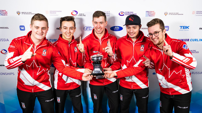 Double gold for Canada at World Junior Curling Championships