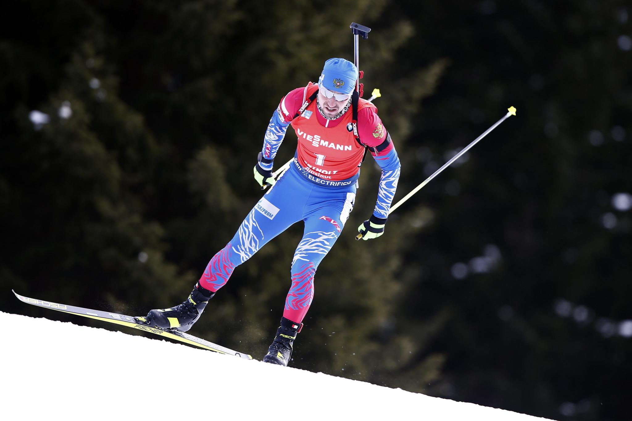 Italian police raid Loginov and coach on suspicion of doping at Biathlon World Championships