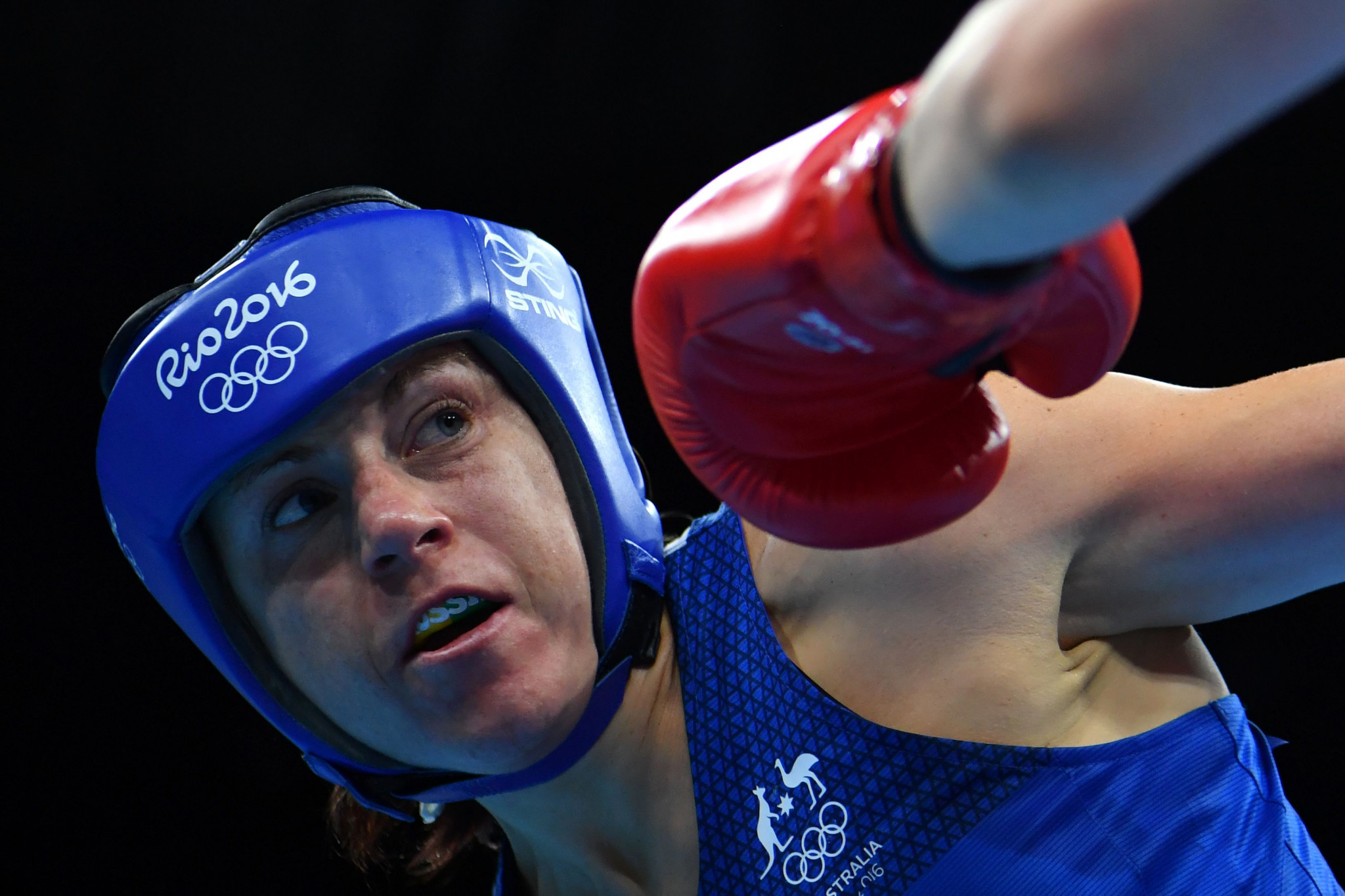 Shelley Watts of Australia was one of three boxers from Oceania to reach the Rio 2016 Olympic Games from a combined Oceania and Asia qualifying event ©Getty Images