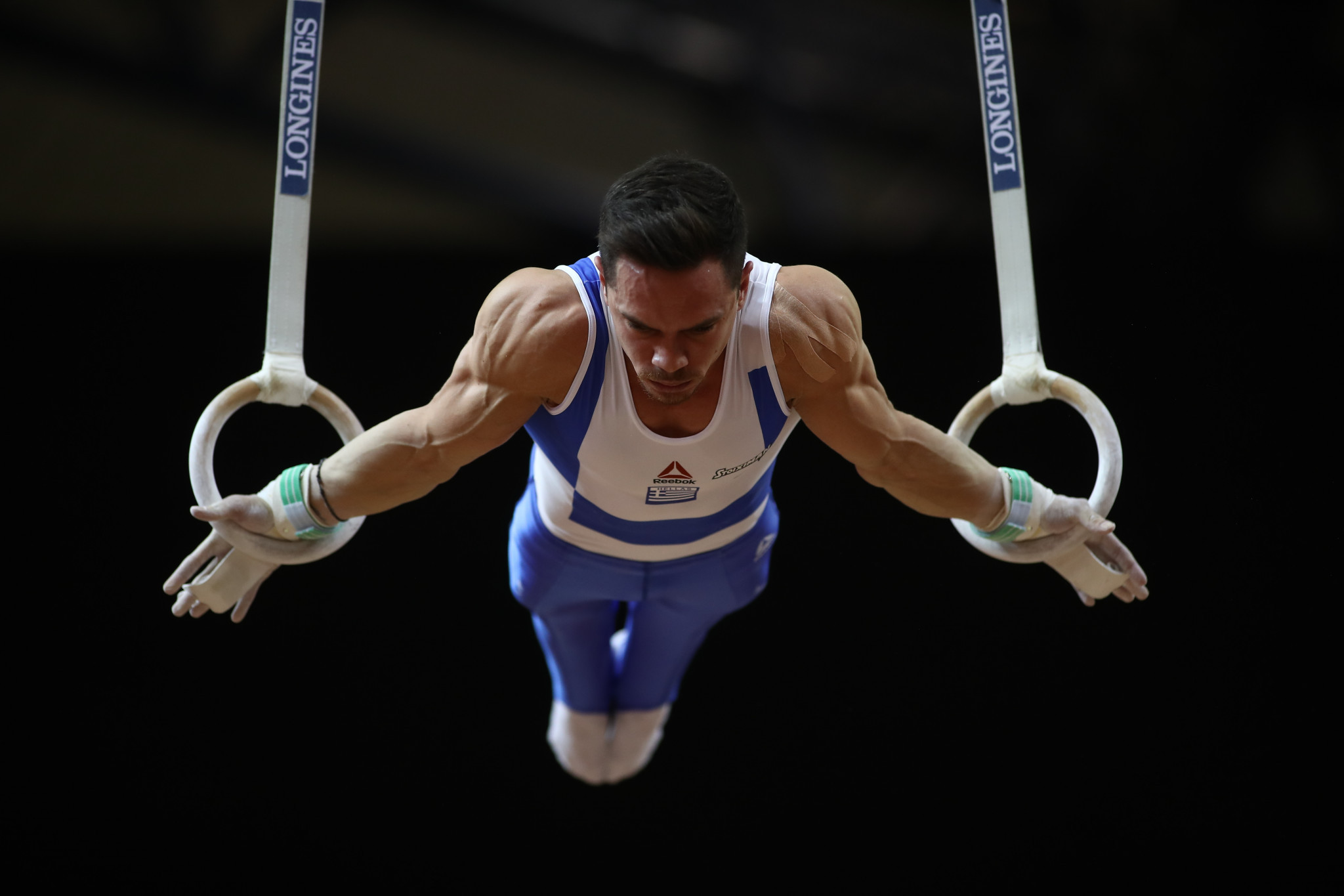 Olympic champion Petrounias claims rings gold at FIG World Cup