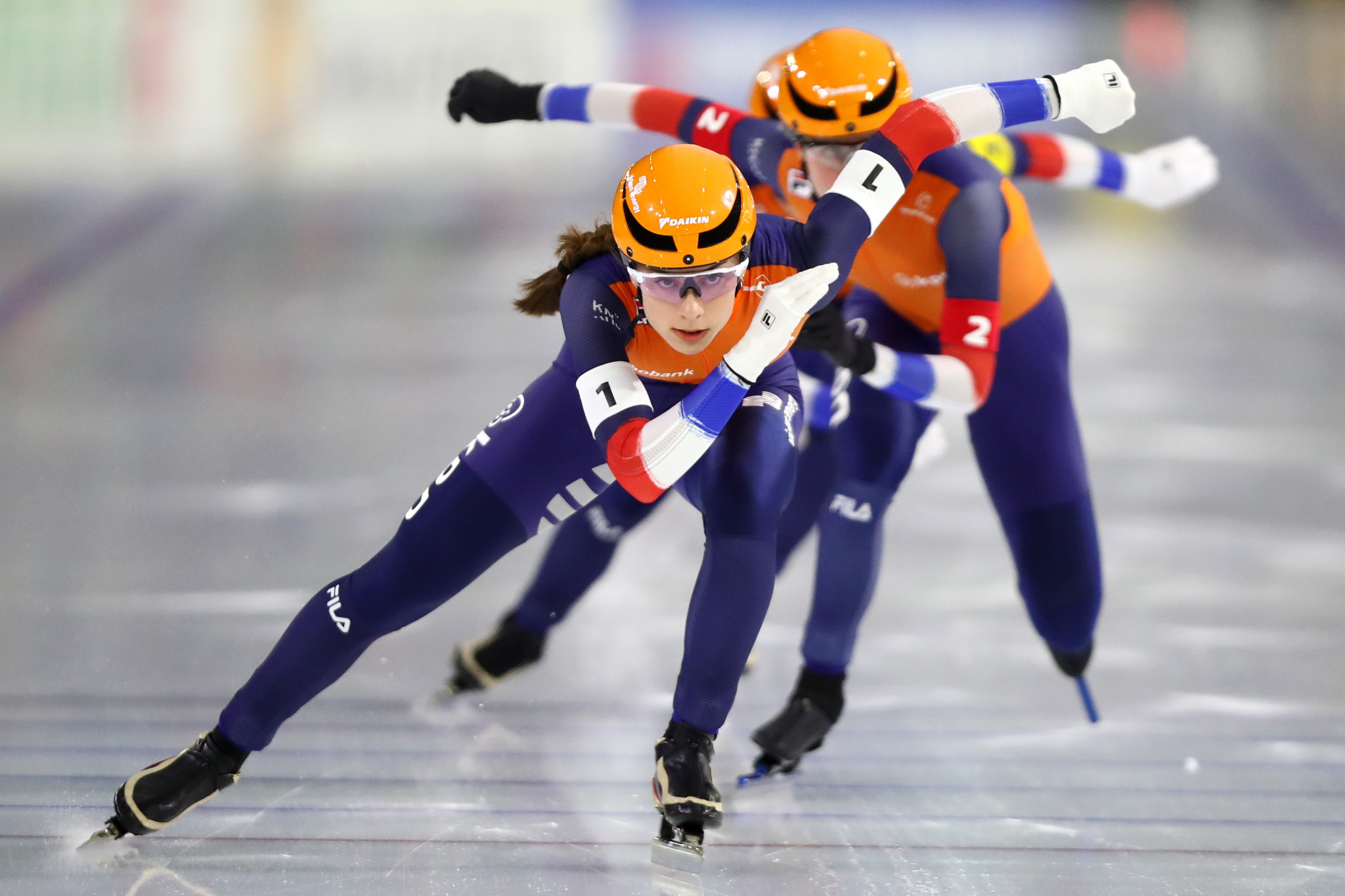 Dutch women lock out podium at ISU World Junior Speed Skating Championships