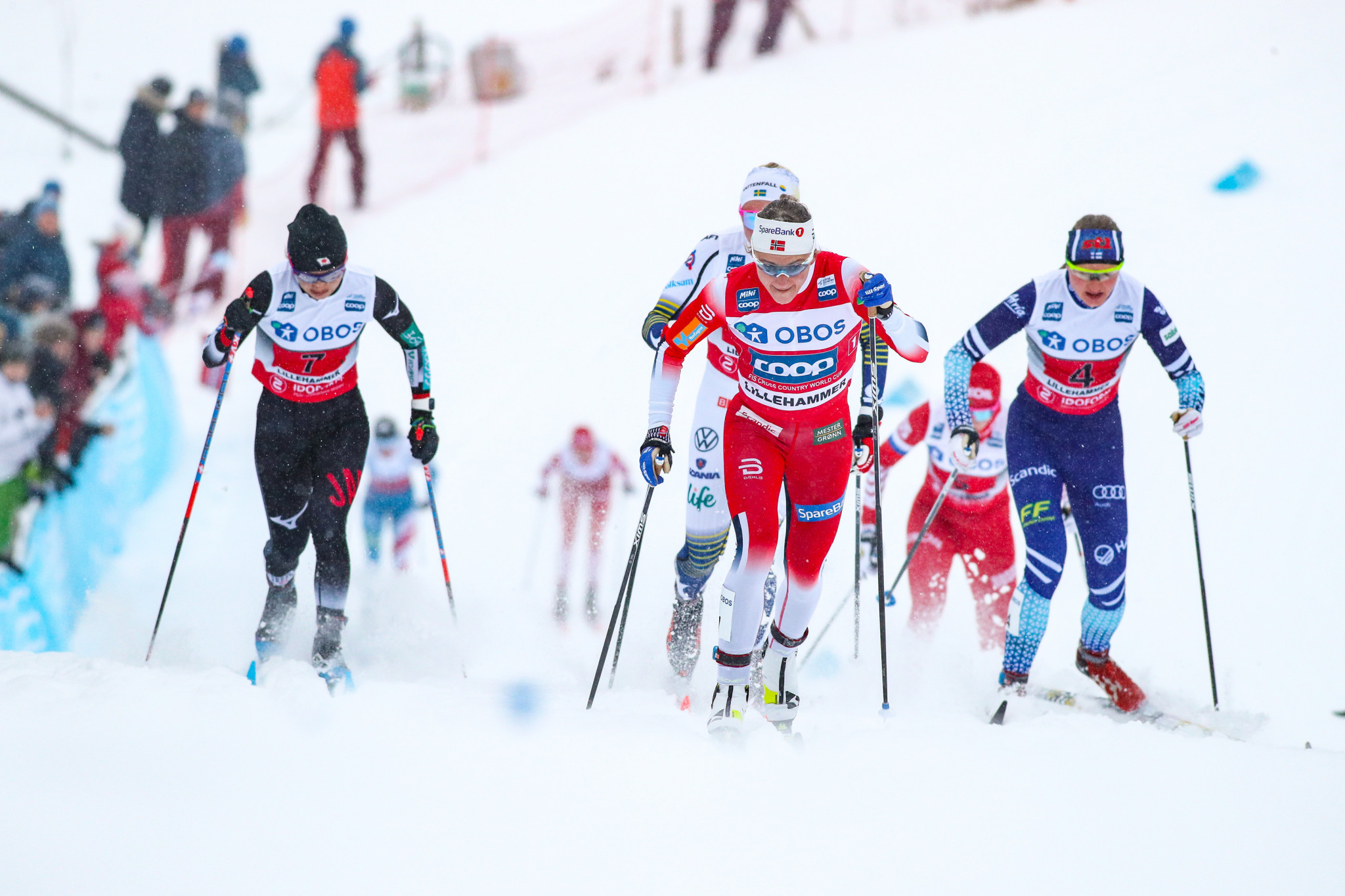 Falla claims sprint victory as Johaug winning streak ends at FIS Cross-Country World Cup