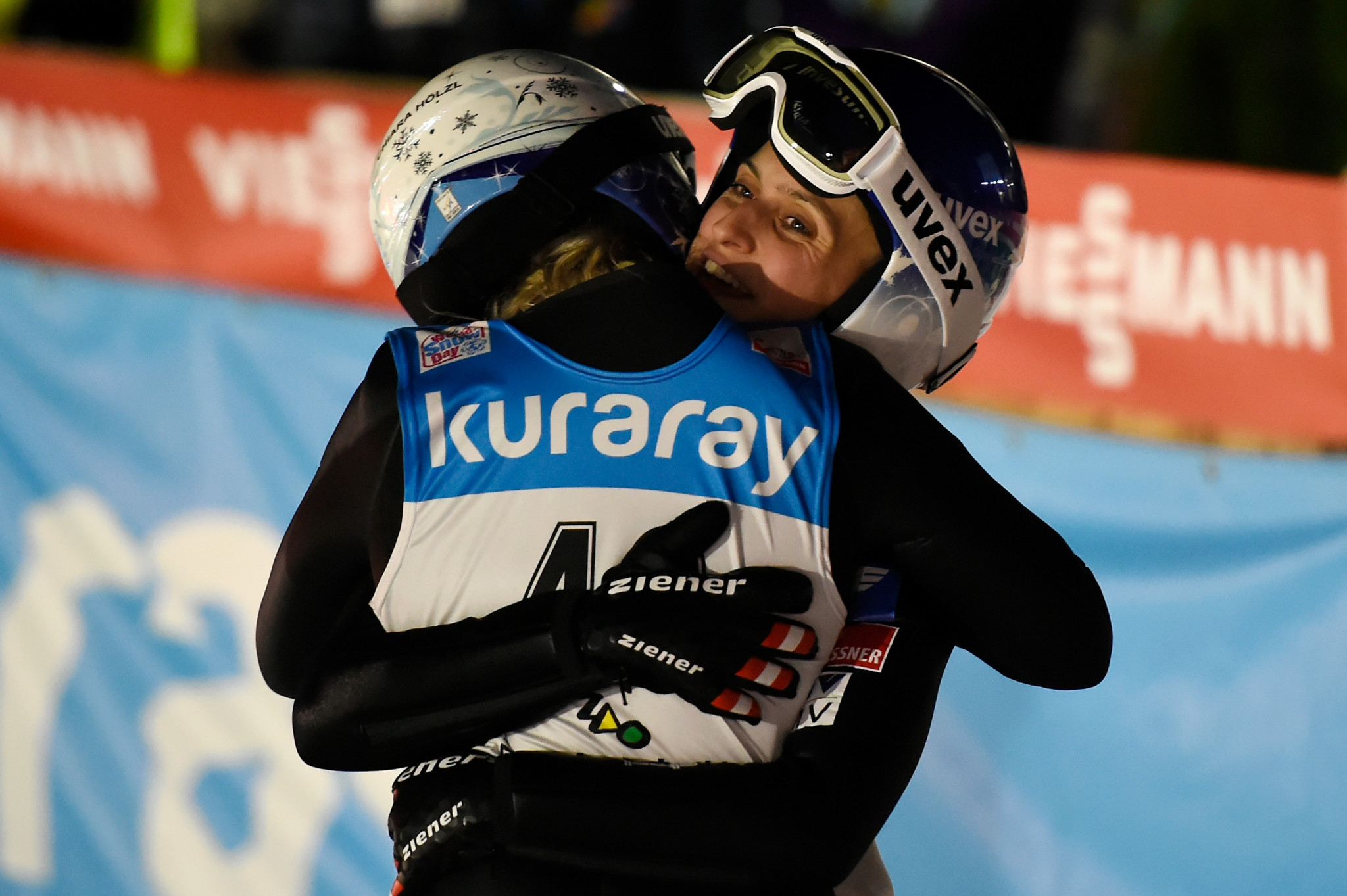 Austria narrowly beat hosts Slovenia in women's FIS Ski Jumping World Cup team event
