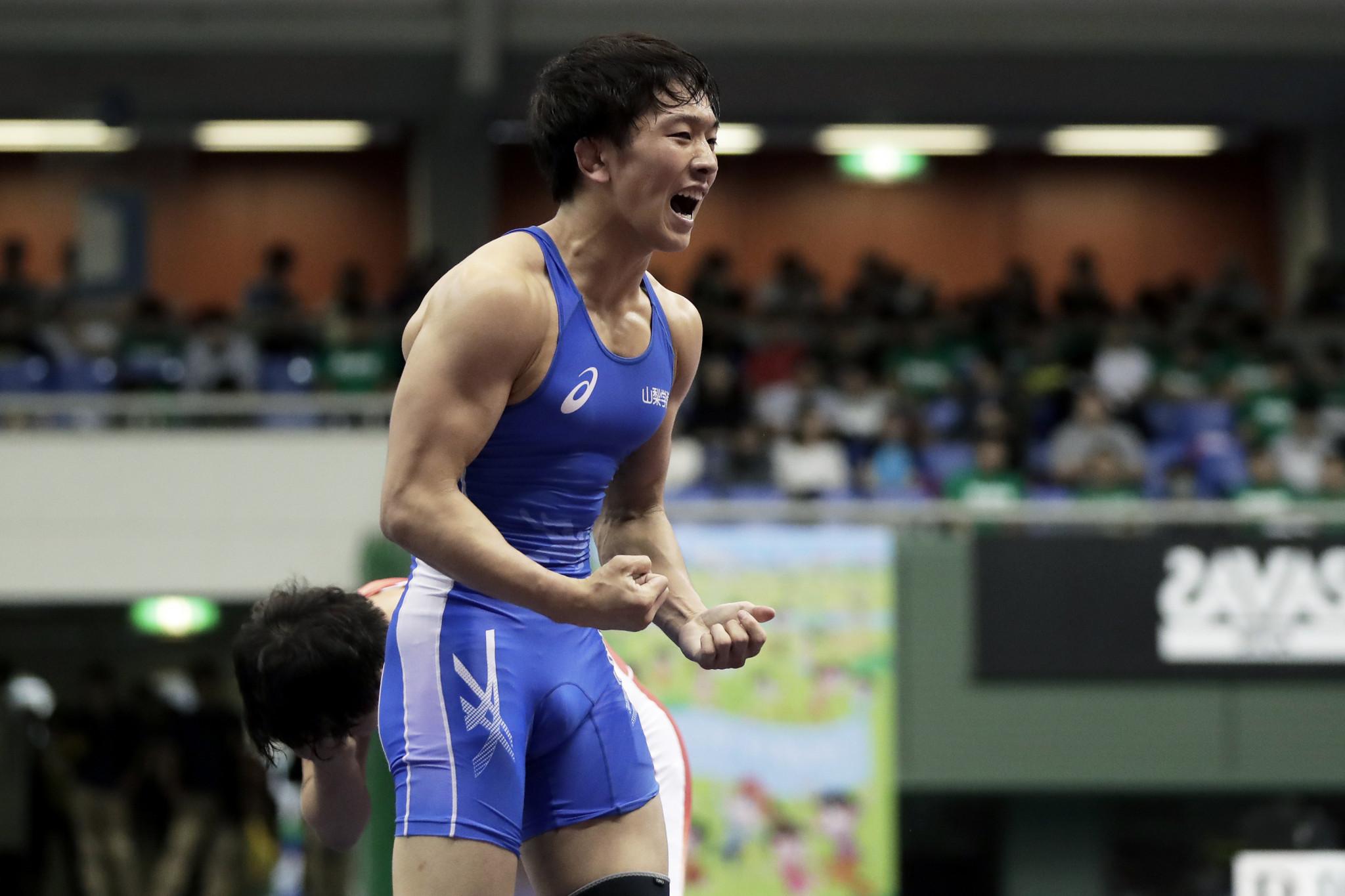 Otoguro denies Bajrang again as men's freestyle finals begin at Asian Wrestling Championships