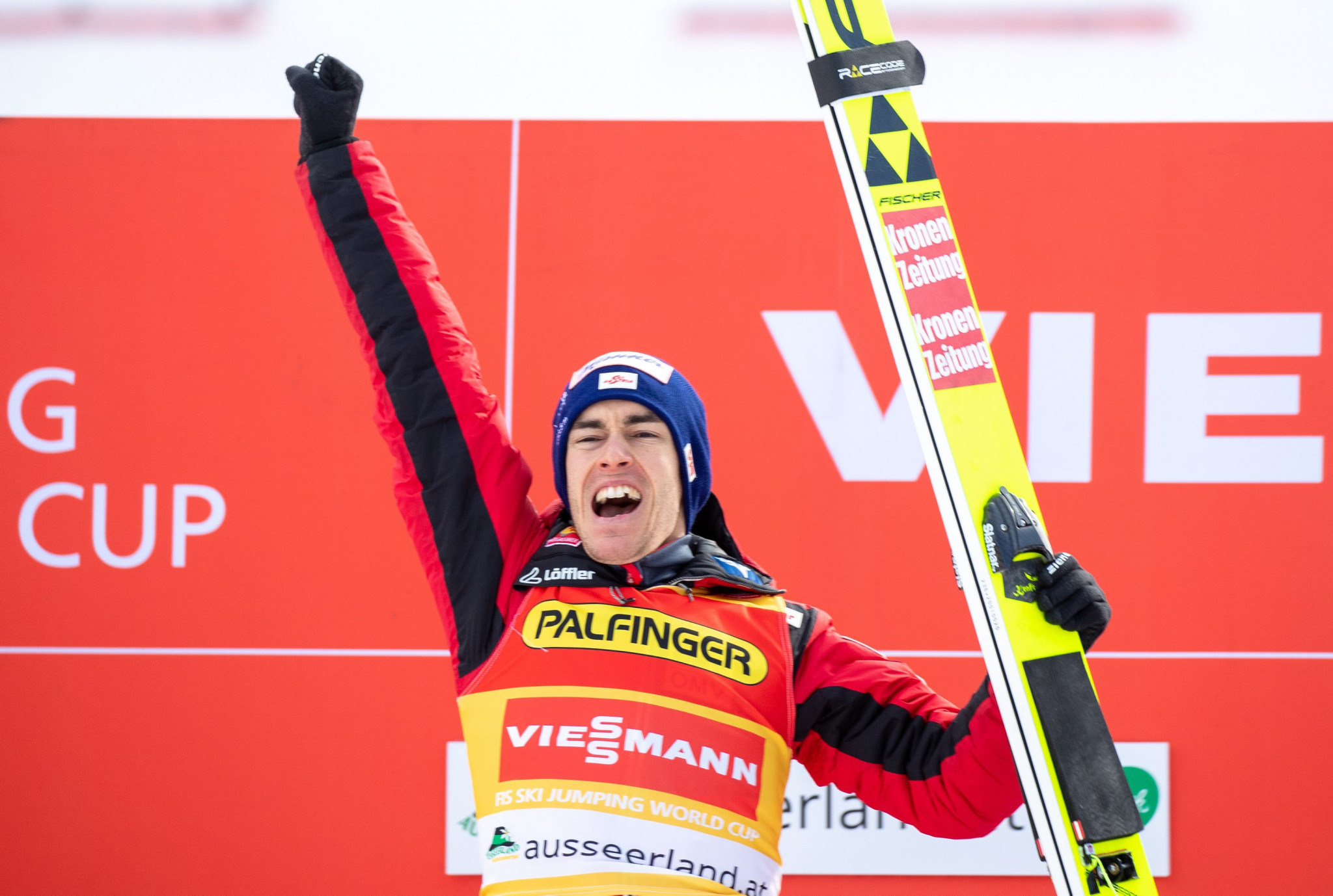 Kraft wins 20th Ski Jumping World Cup event to extend overall lead in Râșnov