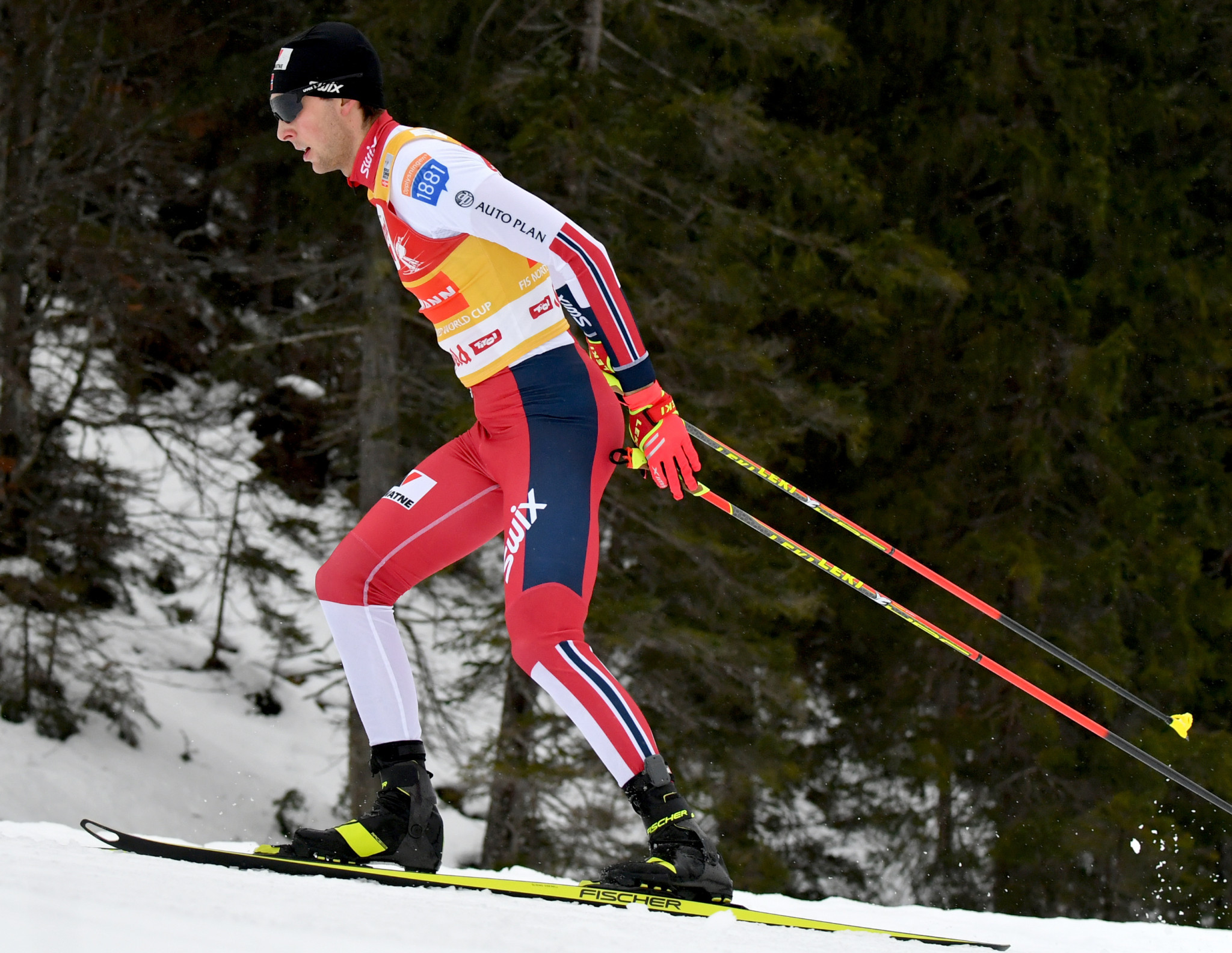 Riiber wins sixth straight Nordic Combined World Cup in Trondheim