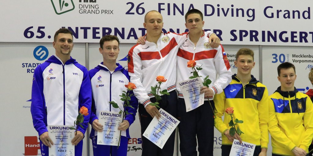Germans among winners on day two of Rostock FINA Diving Grand Prix