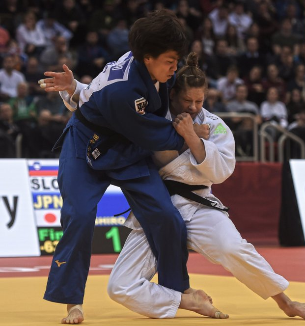 Japanese gold medal charge continues at IJF Grand Slam in Düsseldorf
