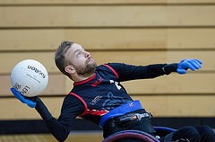London Storm claimed the inaugural inaugural BT Wheelchair Rugby National Championships title ©GBWR/Martin Saych