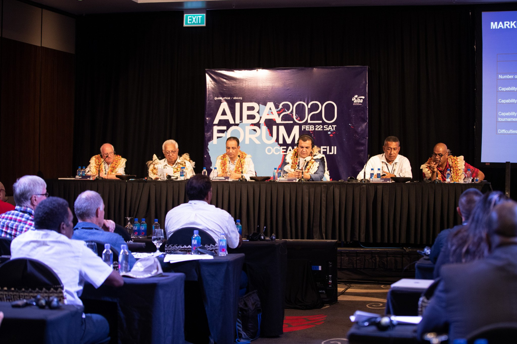Umar Kremlev promised to create an Oceania Boxing Centre at the AIBA Continental Forum in Fiji ©AIBA
