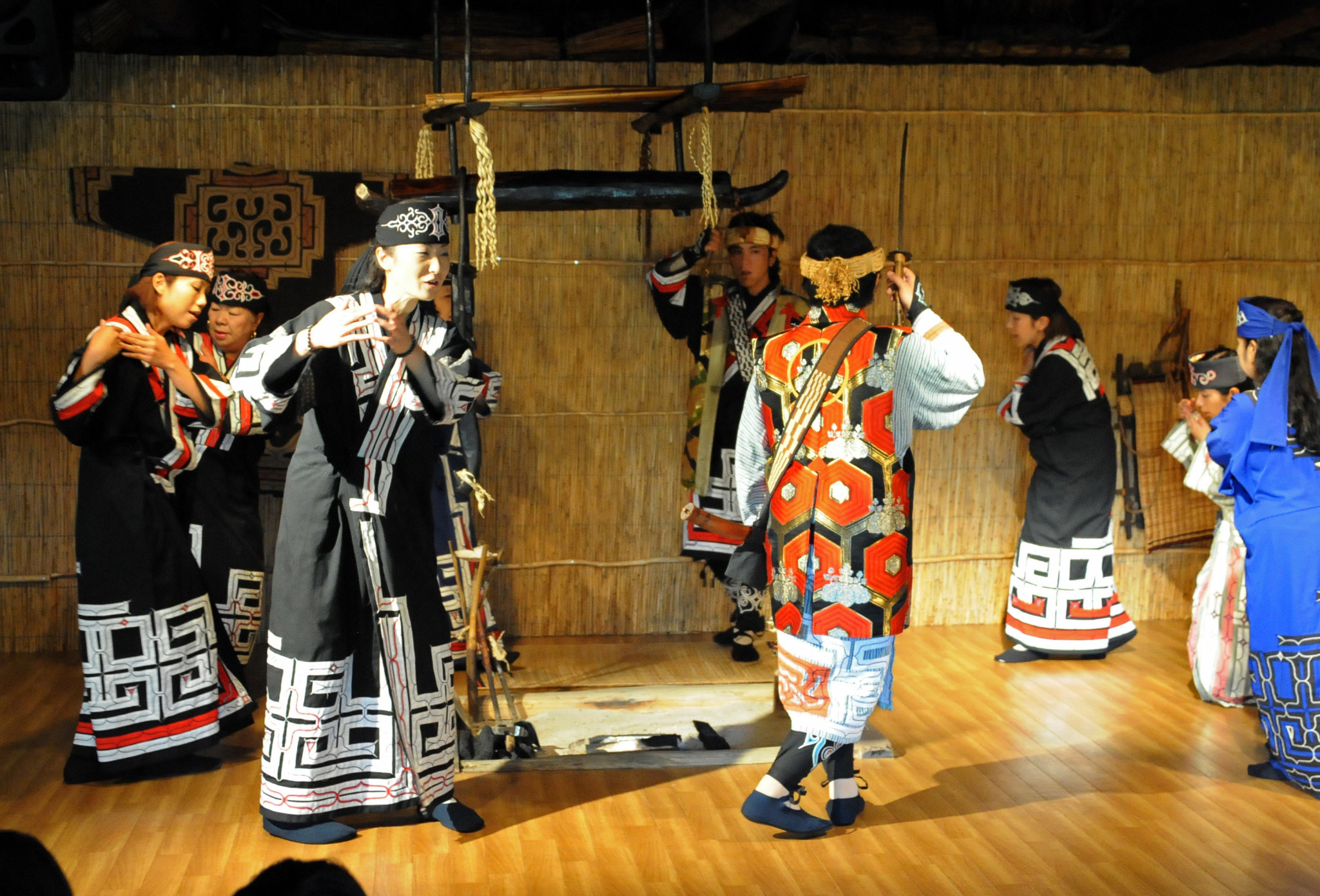 A dance from Japan's indigenous Ainu community has been controversially dropped from the Tokyo 2020 Opening Ceremony ©Getty Images