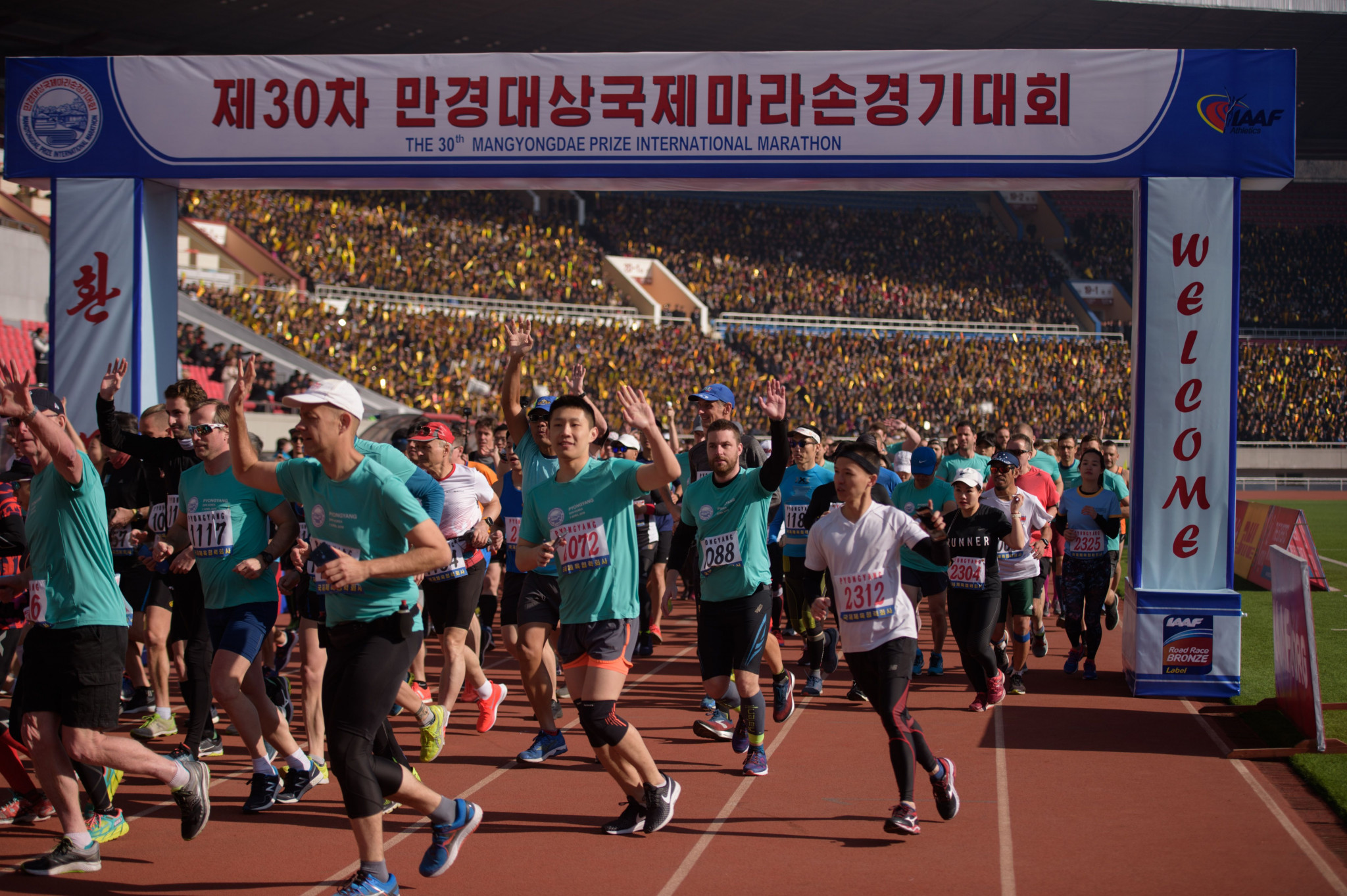 Pyongyang Marathon latest sporting event cancelled due to coronavirus outbreak