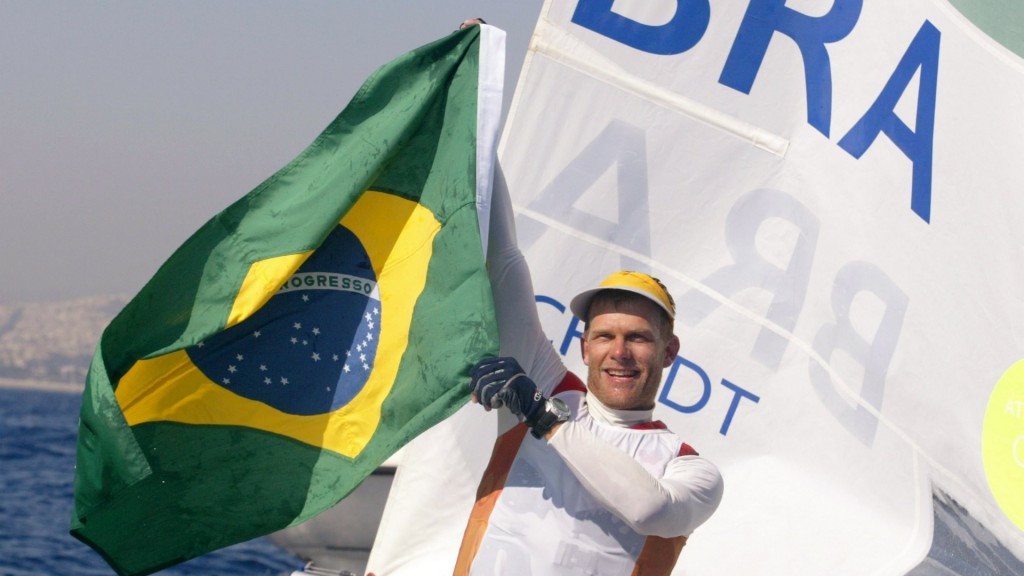 Brazil's five-time Olympic medal winning sailor Robert Scheidt is among the 24 candidates for election to the IOC Athletes' Commission at Rio 2016 ©Getty Images
