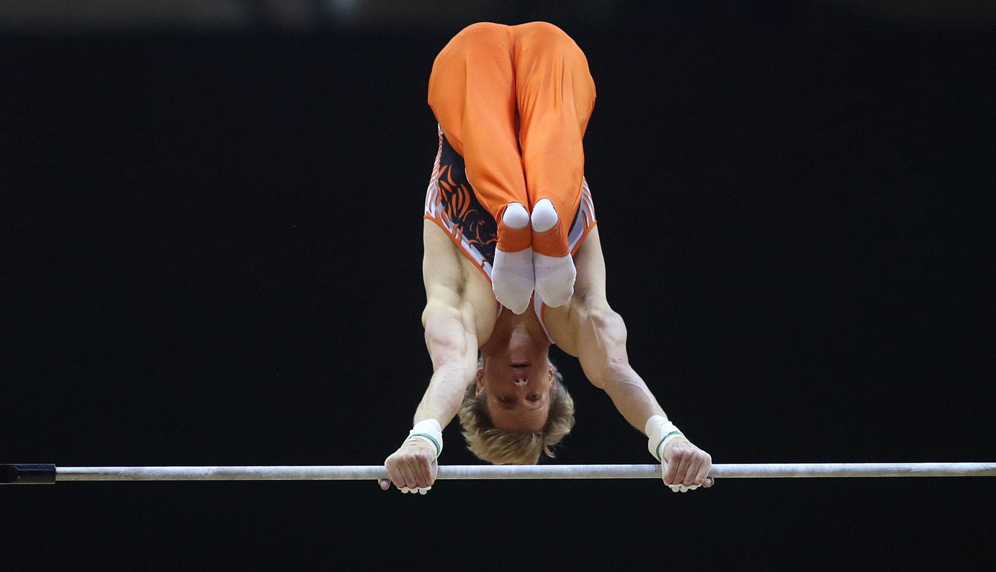 Olympic gold medallist Zonderland wins horizontal bar title at Gymnastics World Cup in Melbourne