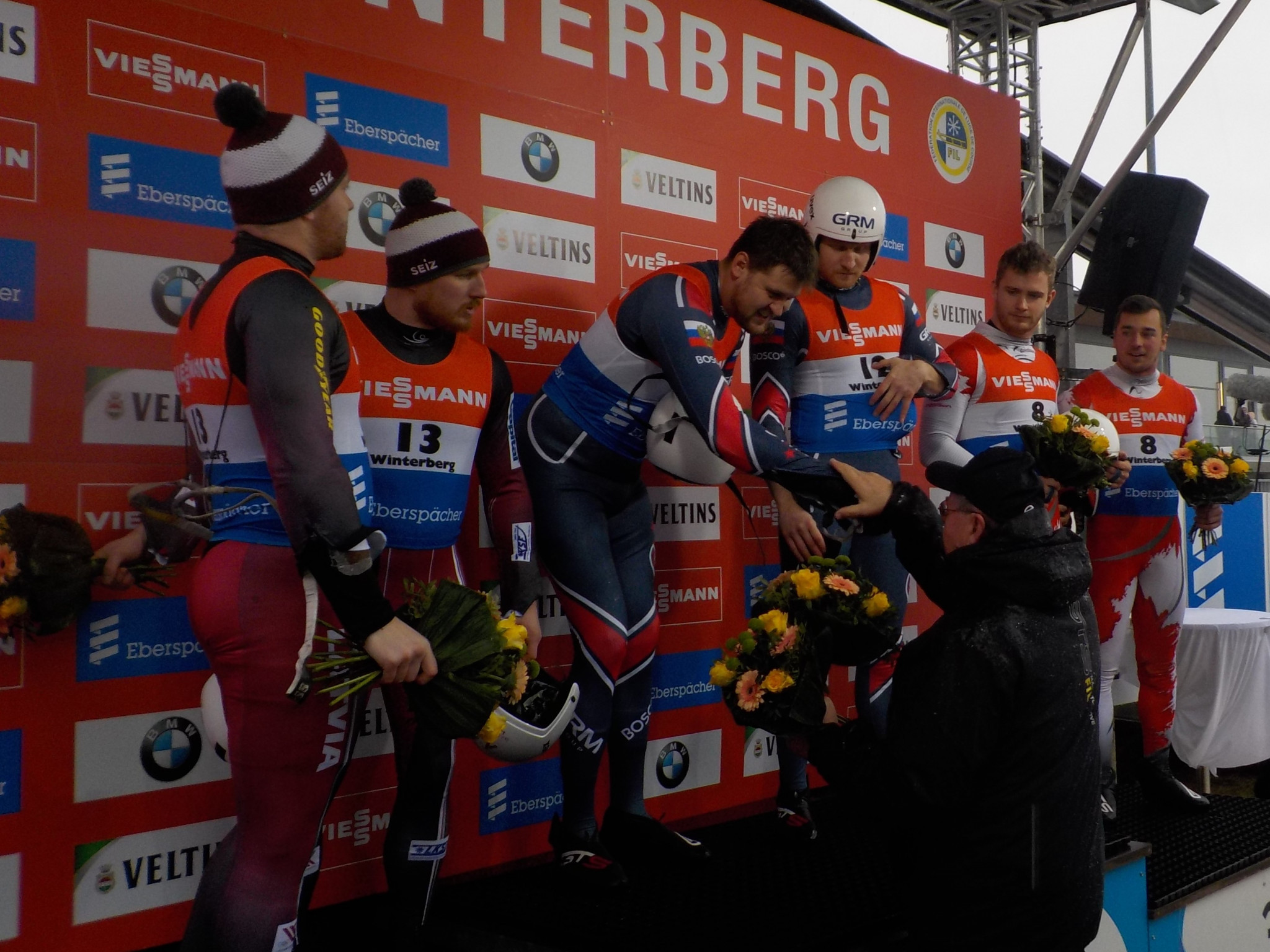 Russia win two golds at Luge World Cup after Germans skip own event due to safety fears