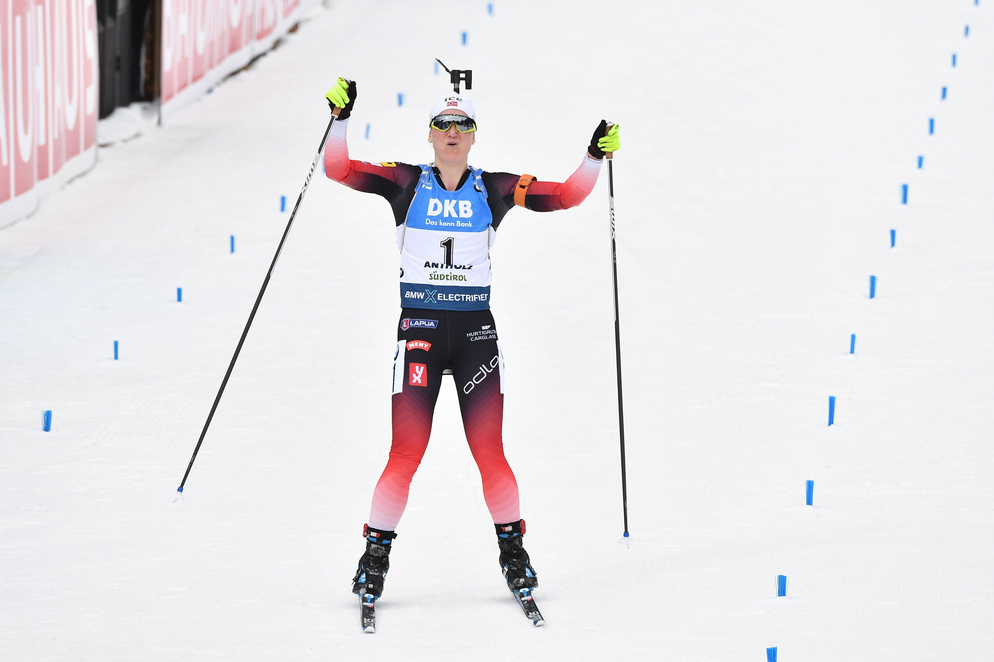 Magnificent Røiseland wins fifth gold as Biathlon World Championships conclude
