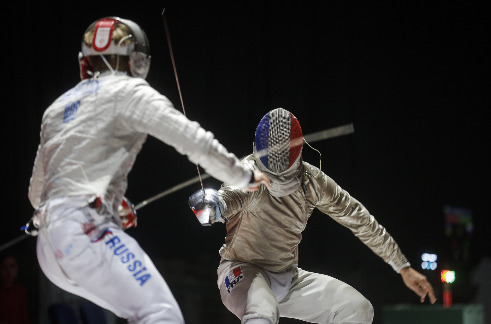 France were victorious in the men's team sabre in Poland ©Getty Images