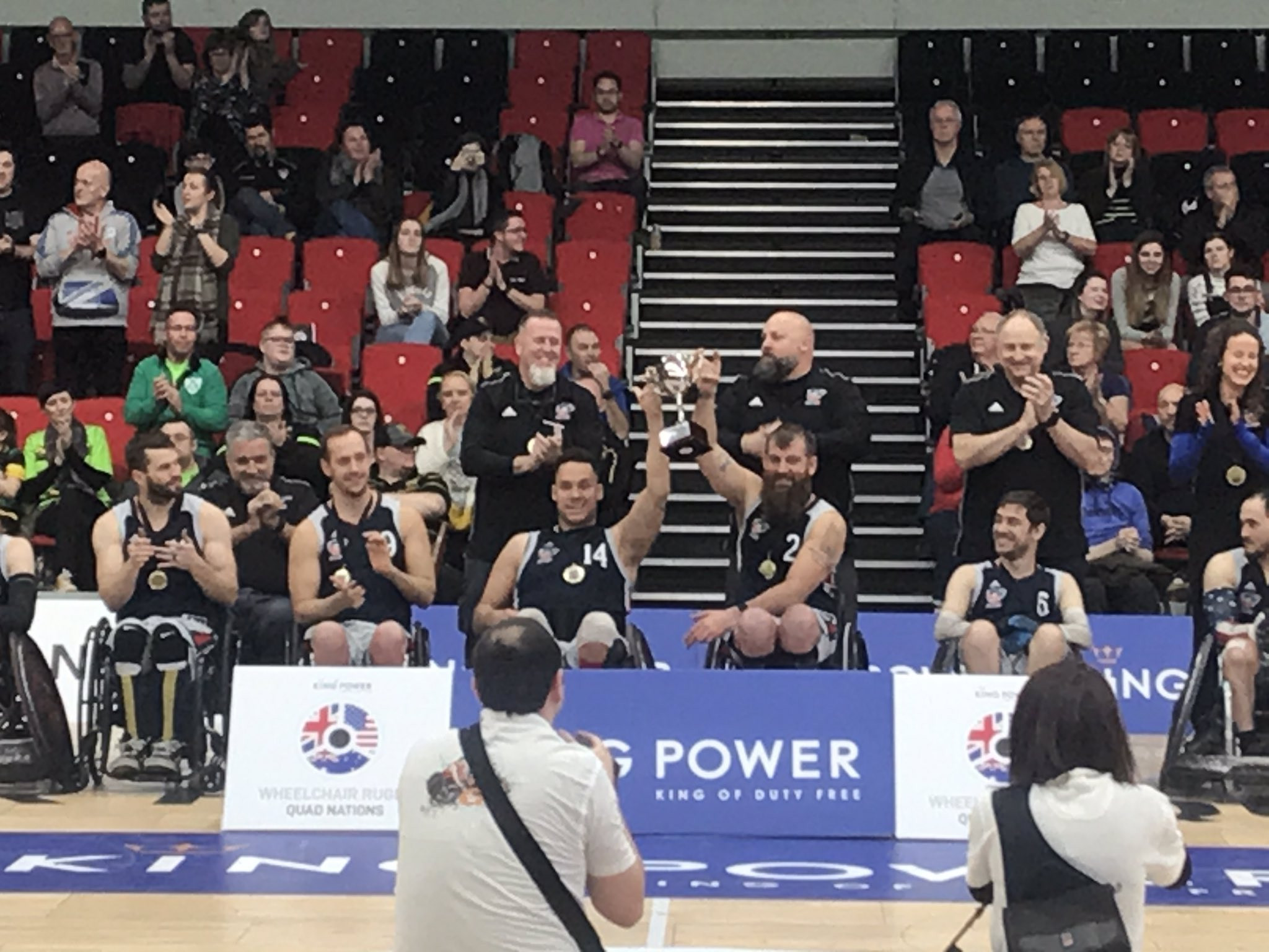 United States win Wheelchair Rugby Quad Nations title for second time