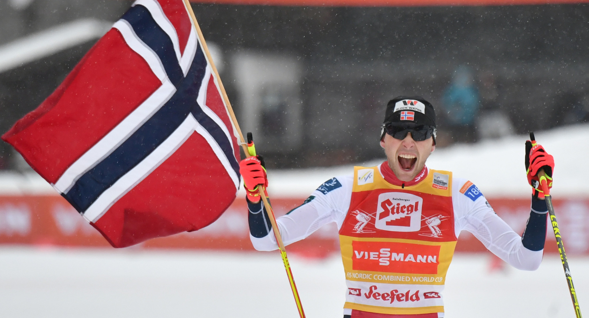 Riiber seals overall Nordic Combined World Cup title with 13th win of season