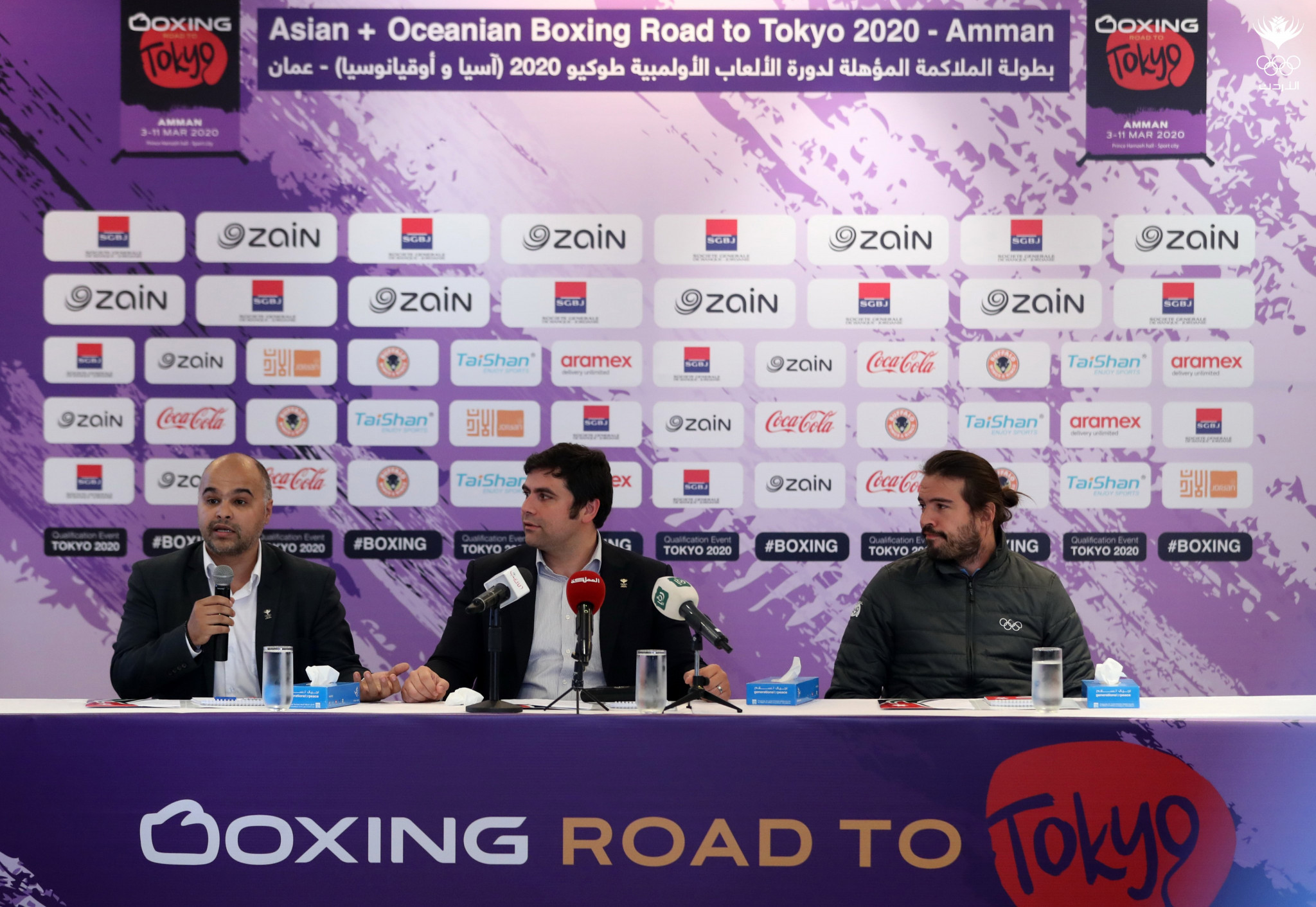 Sponsors sign-up to support rearranged Olympic boxing qualifier in Amman