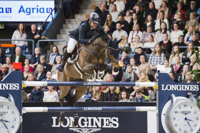 Gulliksen posts career-defining victory at FEI Jumping World Cup in Gothenburg