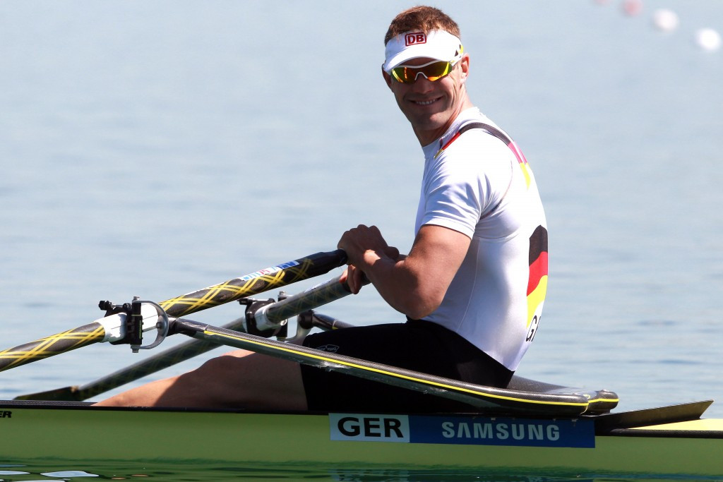 Hacker hints at new area of success as Germany and China dominate World Rowing Cup I in Bled