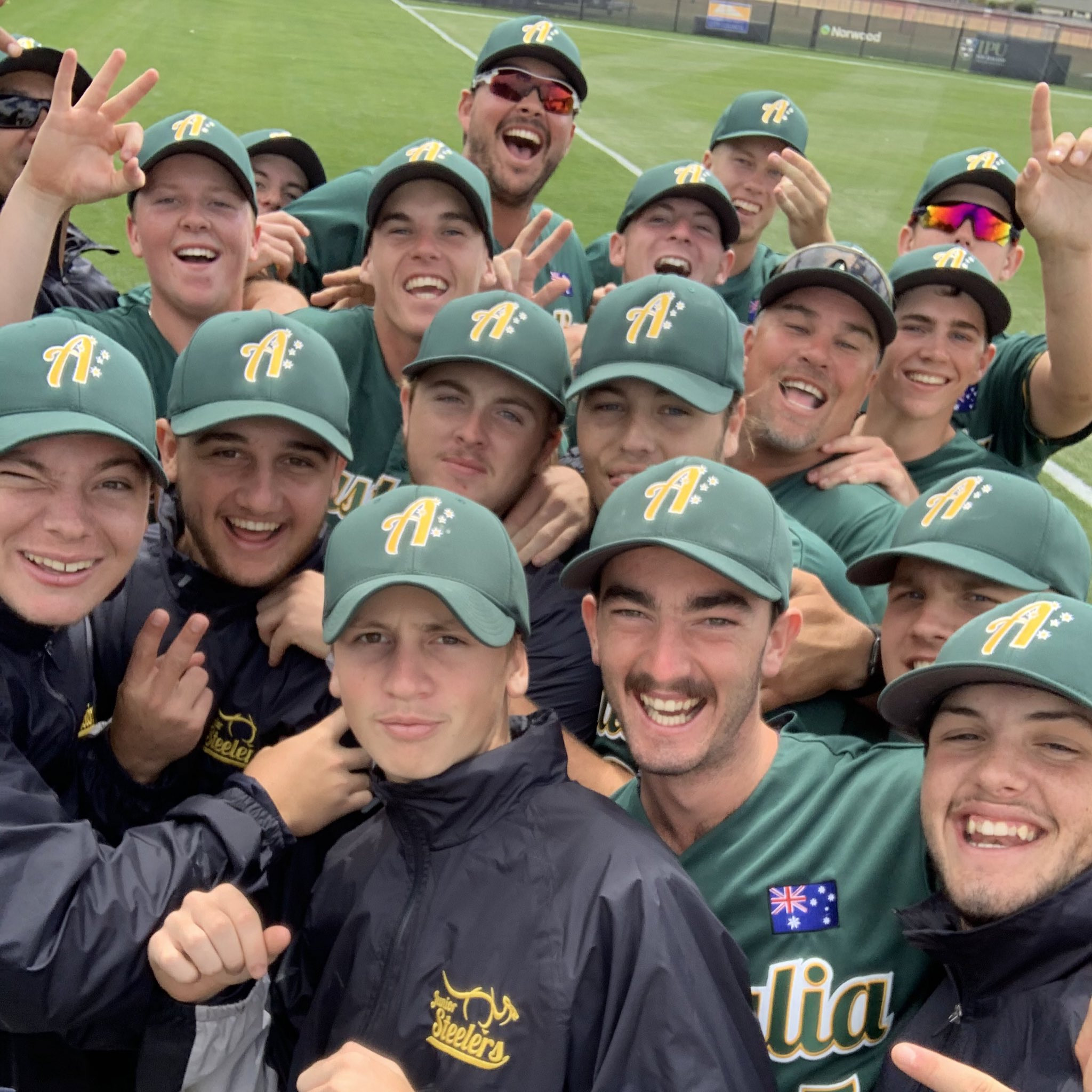 Reigning champions Australia remain undefeated at Under-18 Men's Softball World Cup