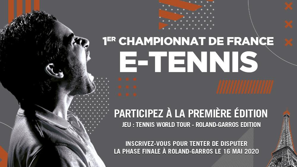First-ever French e-tennis Championships launched