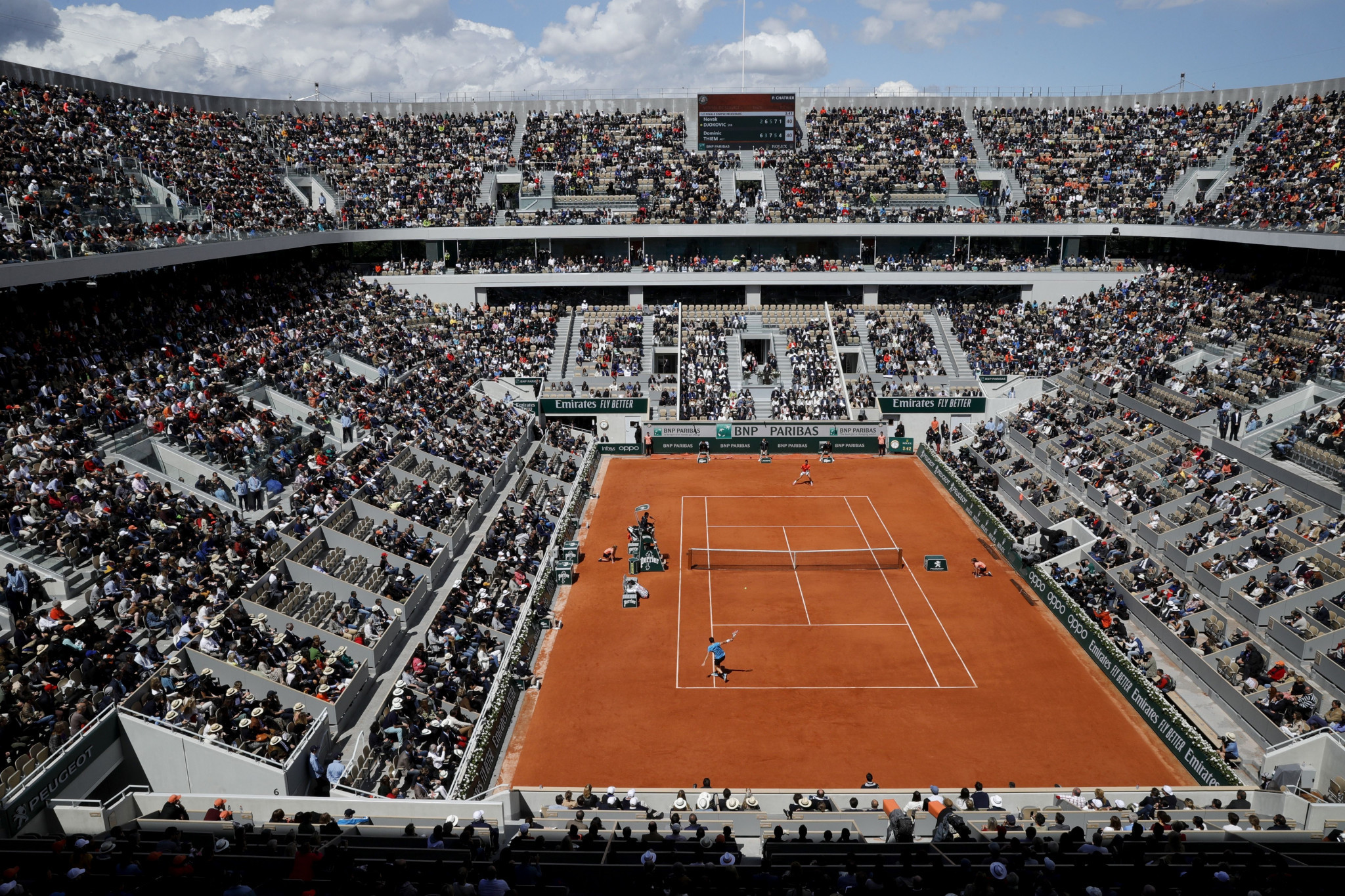 Tennis bodies set to financially support players affected by coronavirus pandemic
