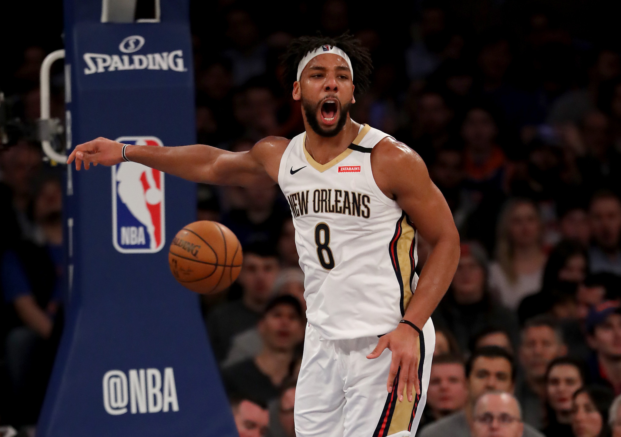 New Orleans Pelicans Jahlil Okafor looks set to be in Nigeria colours come Tokyo 2020 after declaring for the land of his grandfather ©Getty Images