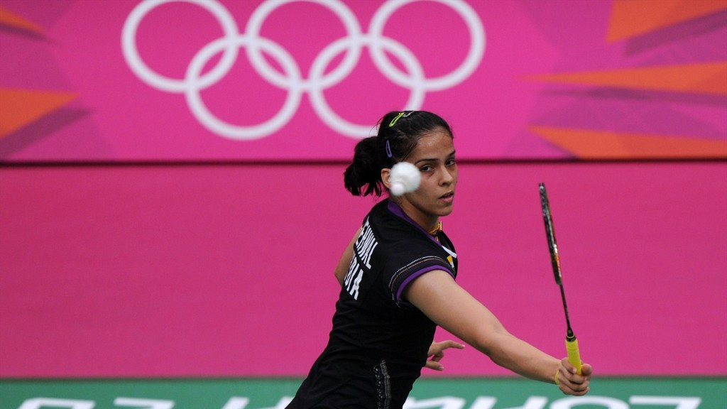 London 2012 badminton bronze medallist Saina Nehwal will become India's only IOC member if she is elected to the Athletes' Commission ©Getty Images